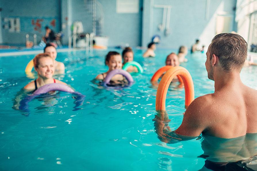 Was bringt Dir Aquafitness?
